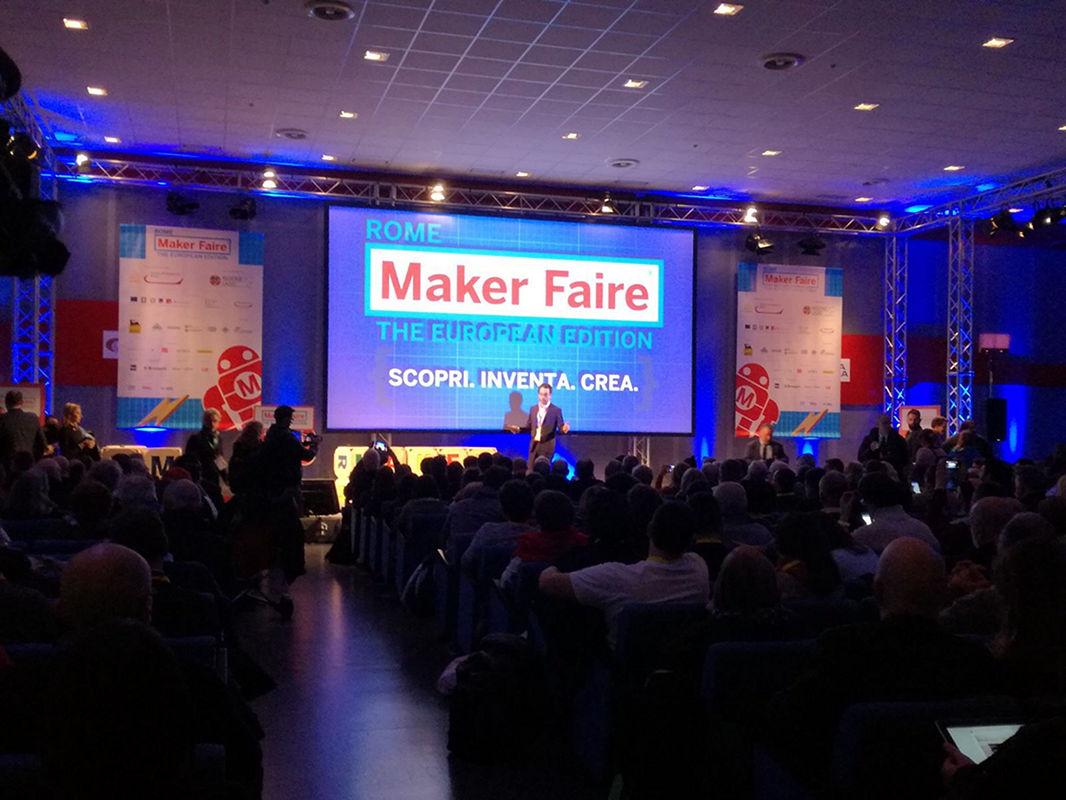 In Quattro at Maker Faire Rome