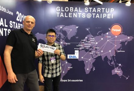 In Quattro selected by the elite Global Startup Talents @ Taipei Program as a leading start-up to present the First Two-Phase Thermal Cooling System at INNOVEX – COMPUTEX 2019