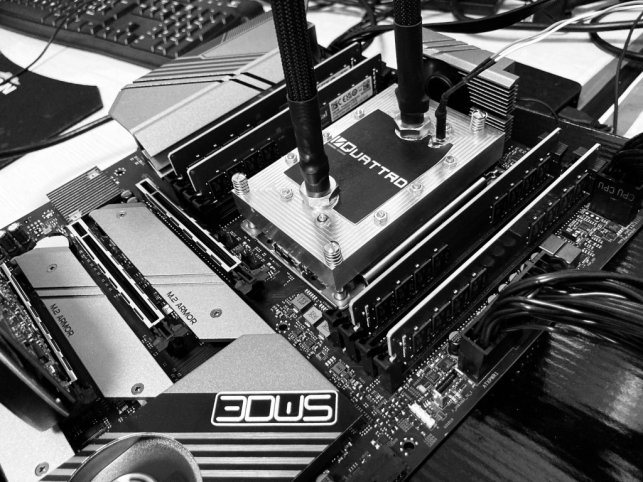 IN-QUATTRO Collaborates with 3DWS to Release the First Two-Phase Cooled High Performance Workstation Solution.