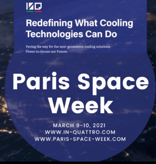 IN-QUATTRO will Introduce its Advanced Thermal Management Technology at Paris Space Week.